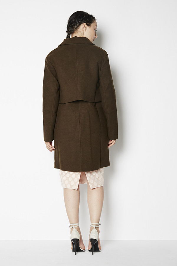 C/MEO Collective Straight Talker Coat