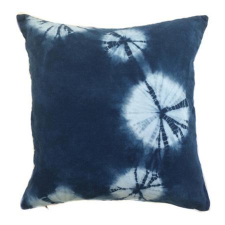 Juniper & Fir Shibori Moon Phase Pillow