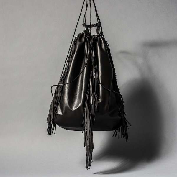 Kara Fringe Backpack