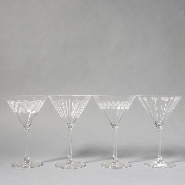 Mikasa Martini Glasses Set