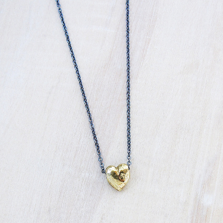 Satomi Studio Tiny Heart Necklace