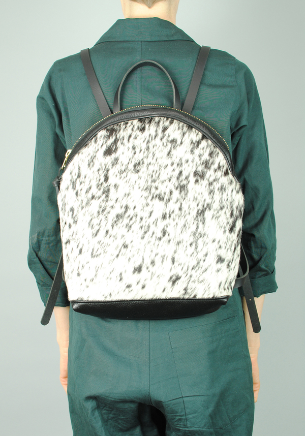 Eleven Thirty Anni Large Backpack Black & White Salt & Pepper