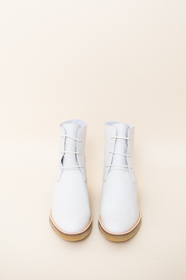 Miist Imelda Boots / White Leather