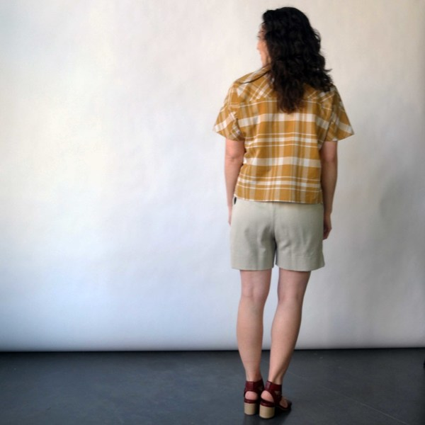 Curator Court Shorts in Tan