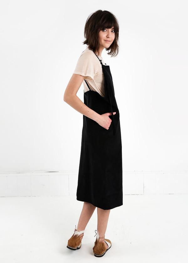 Baserange Fine Corduroy Overall Dress