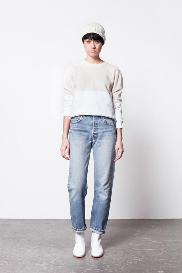 Correll Correll Half Sweatshirt