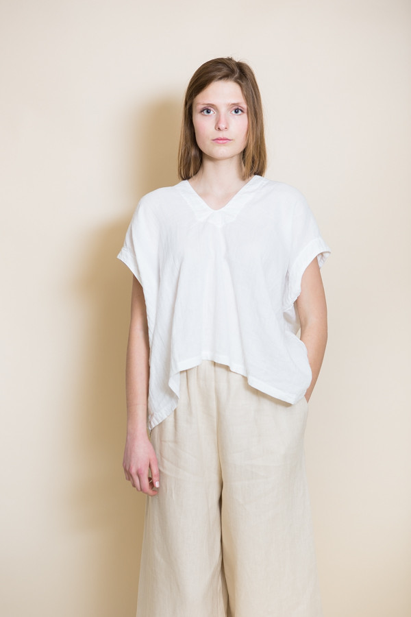 Atelier Delphine Celeste Top / White