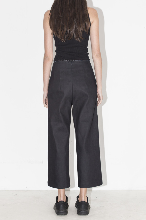 MARKOO Denim Crop Pant