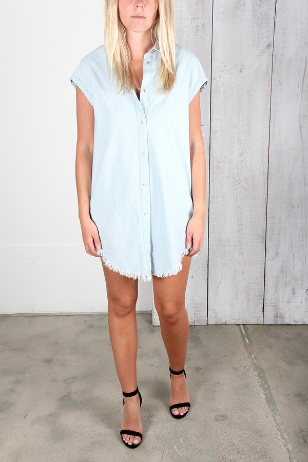 IRO LANIE LIGHT DENIM TUNIC