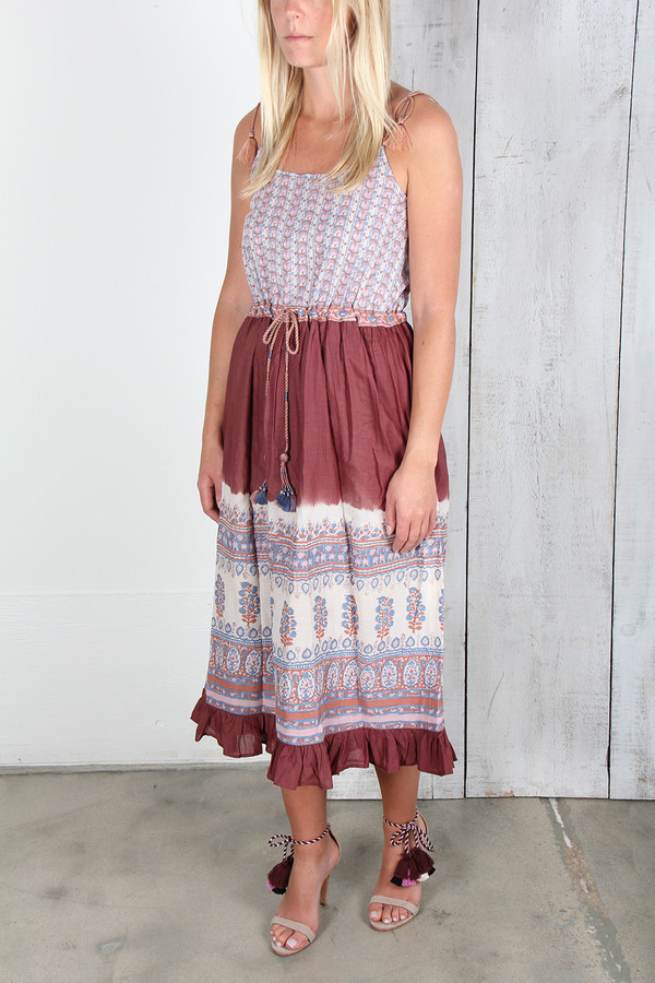 ULLA JOHNSON BEVERLY DRESS