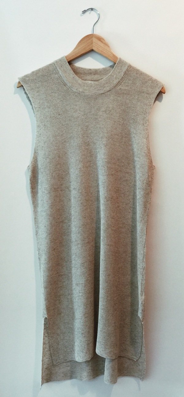 Callahan. Waffle Knit High Low Dress