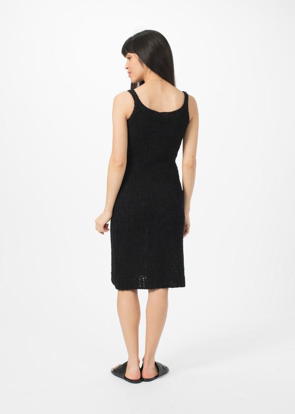 Organic by John Patrick Knit Tank Dress - Black