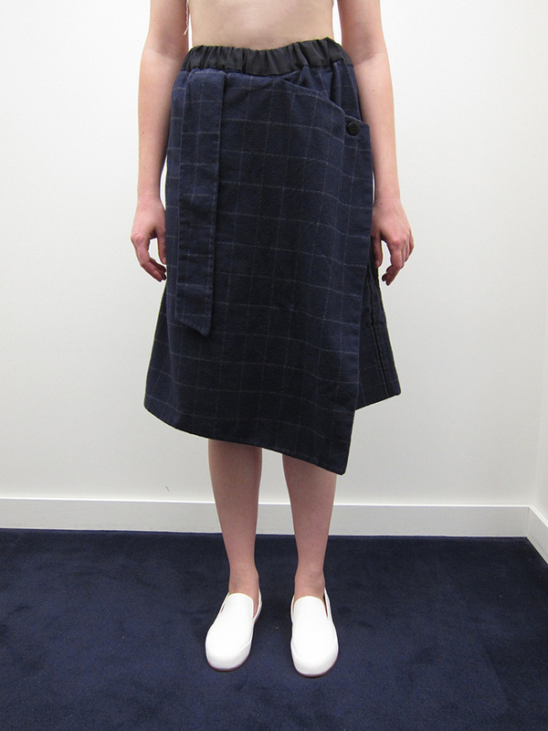 Sophie Andes Gascon Checkered Short