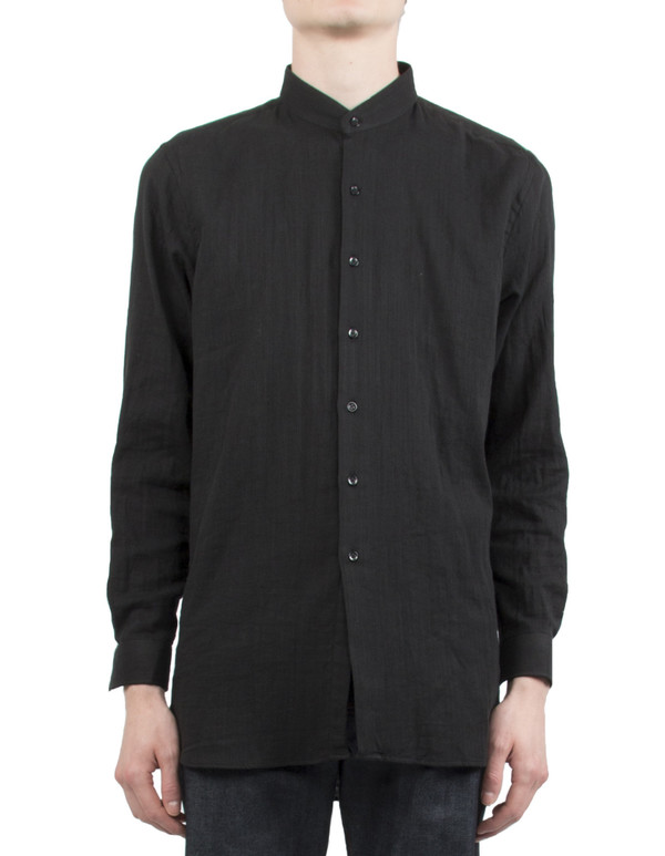 Men's NAKED AND FAMOUS CHEMISE MAO EN GAZE - NOIR
