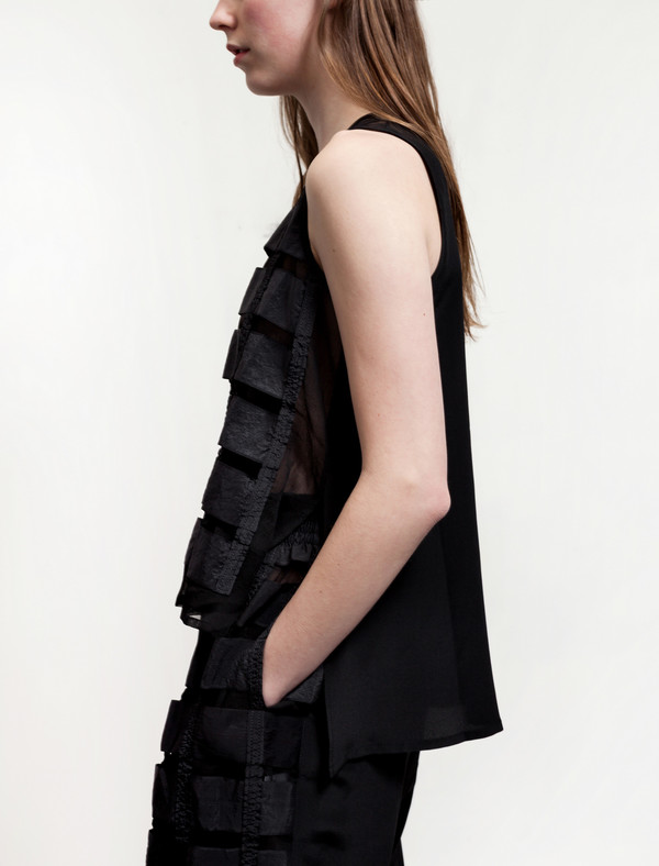 Christopher Raeburn Remade Airbrake Vest Black