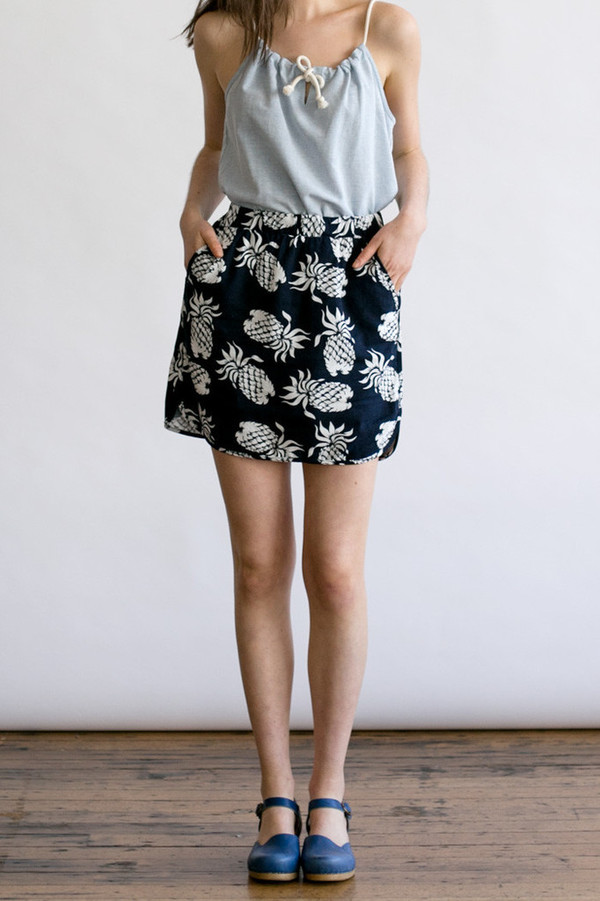 Bridge & Burn Cole Pineapple Skirt