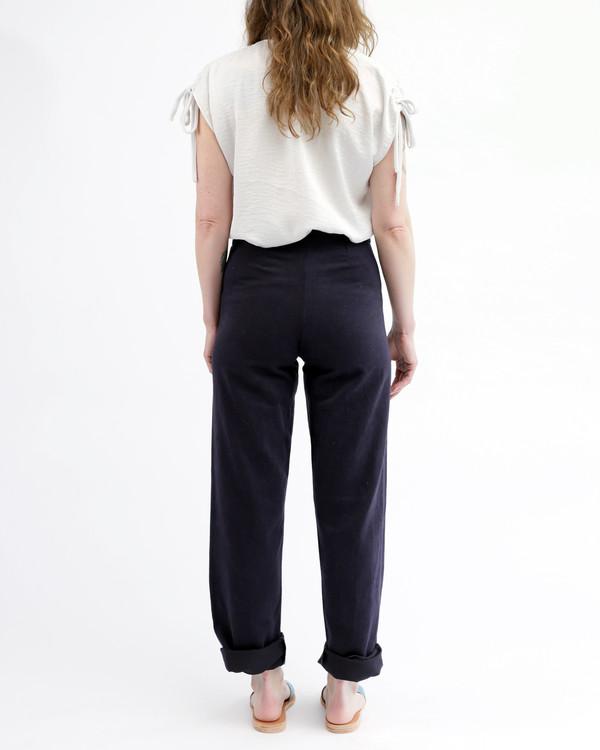 Nahanni Arntzen Daniel sailor pants, dark