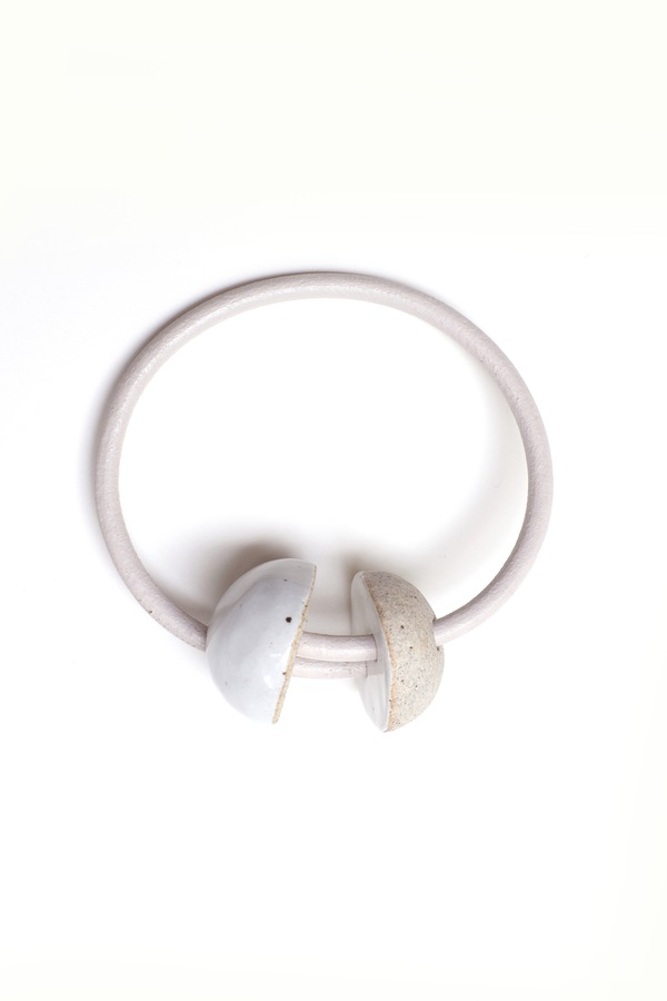 Jujumade sliced sphere bracelet
