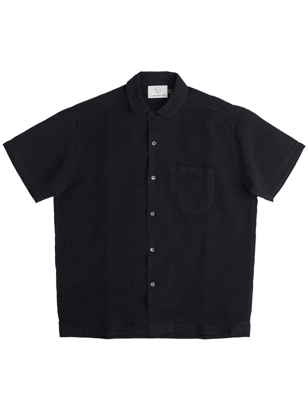 Olderbrother Geri Shirt - Black Indigo