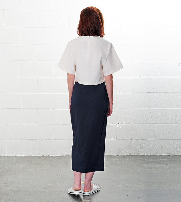 Ganni Total Eclipse Tailor Skirt