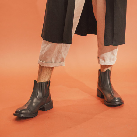 ECKHAUS LATTA Rubber Chelsea Boots