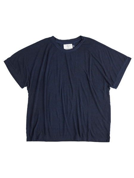 Olderbrother Anti-fit OB Sorona Tee - Dark Indigo