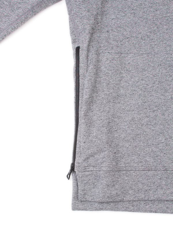 Men's John Elliott Hooded Villain Dark Grey