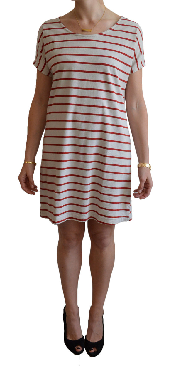 Mollusk Stripe Mini Dress