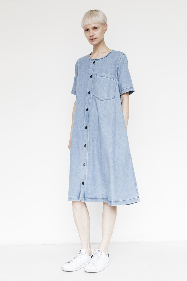 69 Cotton Button Up Dress
