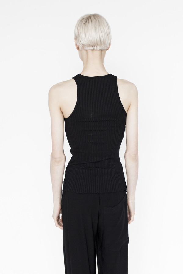 Assembly Cotton Swim Tank - Black
