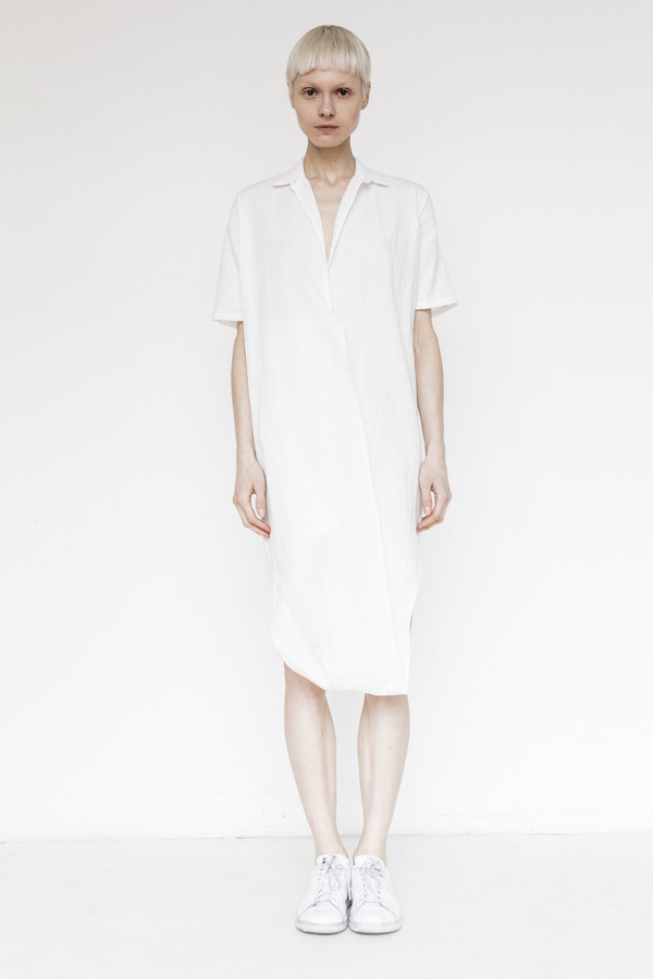 Assembly Gauze Twist Dress