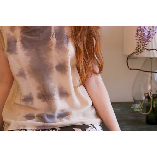 Erica Tanov alba hand-dyed top