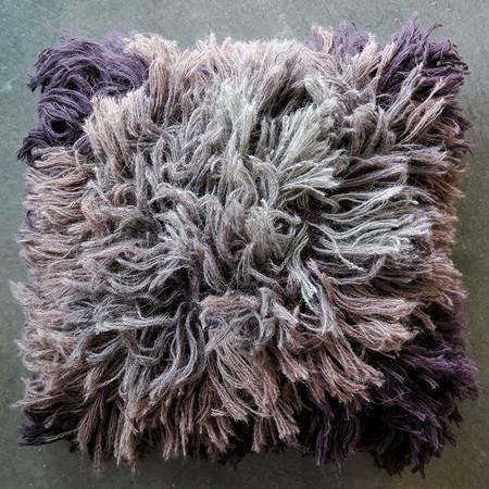 Erica Tanov alpaca shag pillow