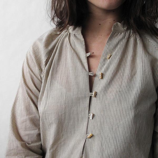 Erica Tanov belden blouse