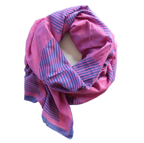 block shop temple scarf