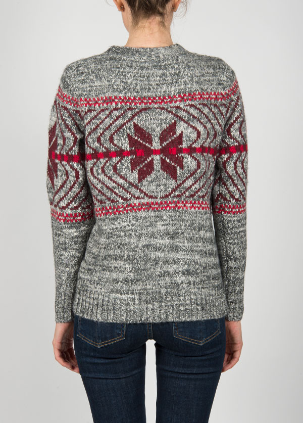 WOOLRICH  NATIVE CREW SWEATER