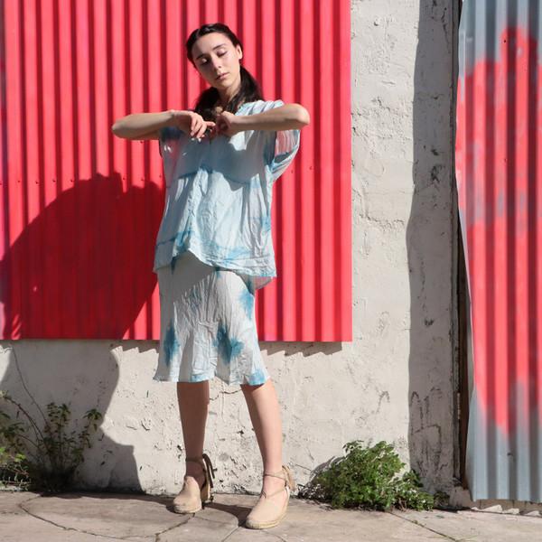 Erica Tanov - Patti Indigo Blouse