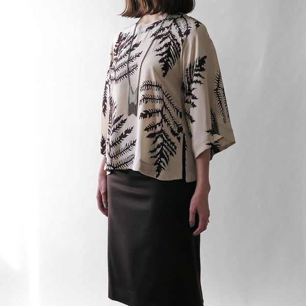 Erica Tanov smith cashmere skirt