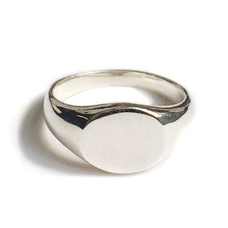Tarin Thomas Arthur Silver Mini Signet Ring