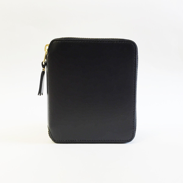 Comme des Garcons - Classic Leather Black French Wallet