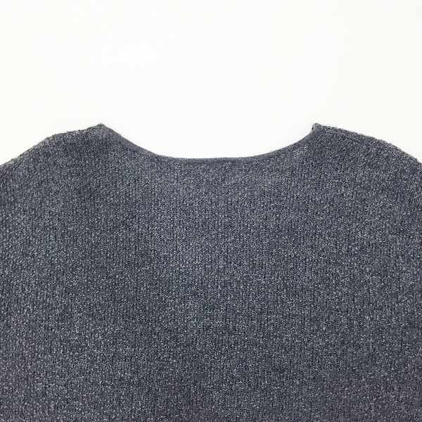 Charcoal Cotton Sweater