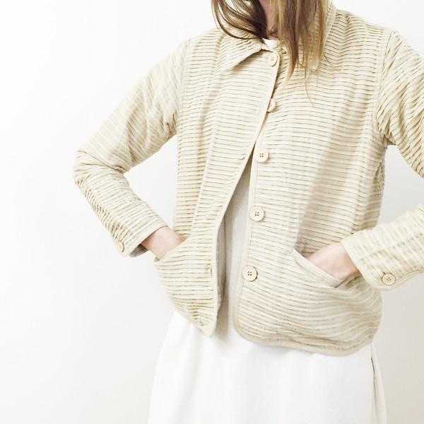 Khaki Cotton Work Jacket