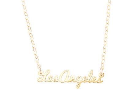 Seoul Little Los Angeles Necklace