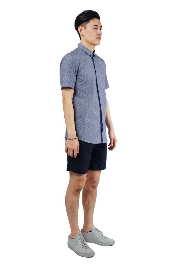 Men's Journal Quad Shirt Navy