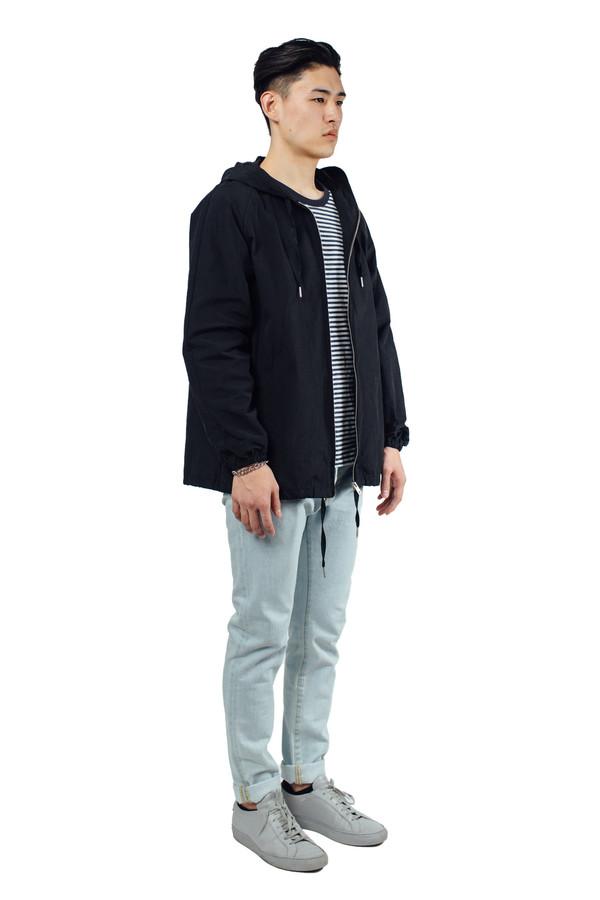 Men's YMC Hooded Jacket Black