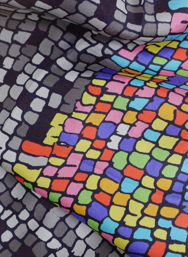 Marlene Houissoud Pixel Scarf
