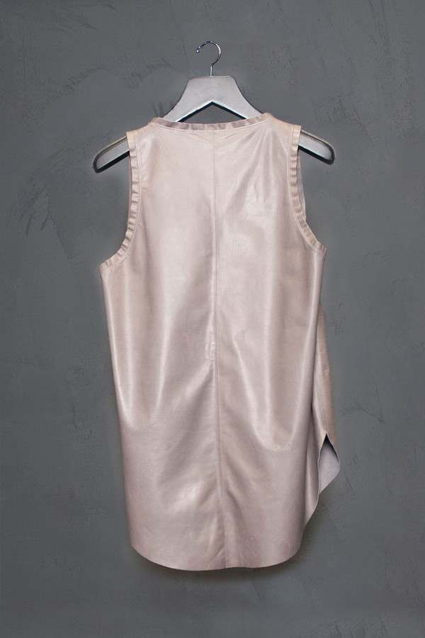 KES Leather Tank Top