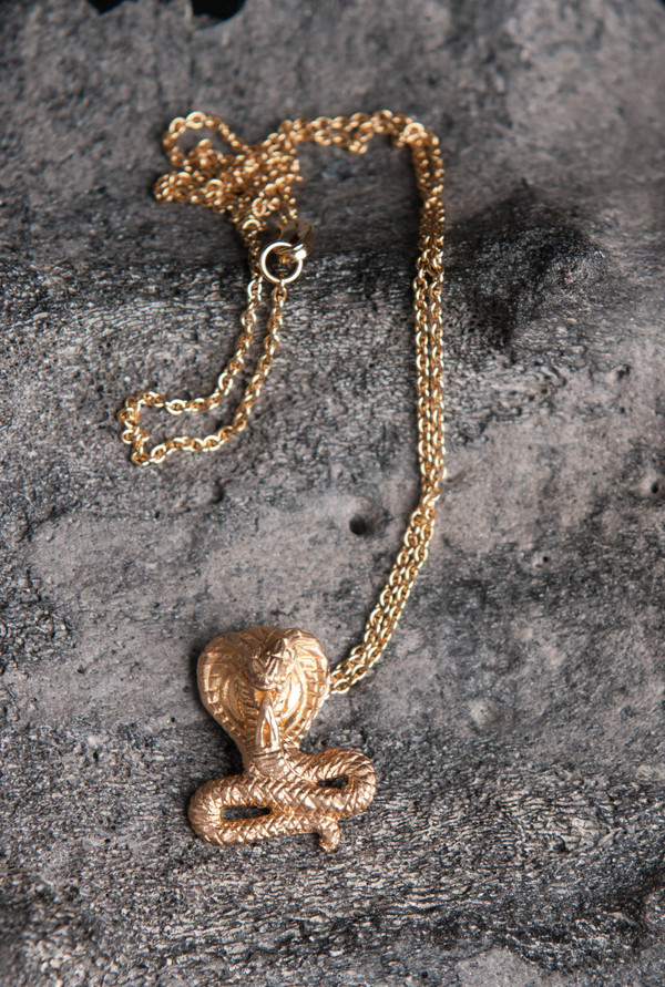 Love Rocks Cobra Necklace