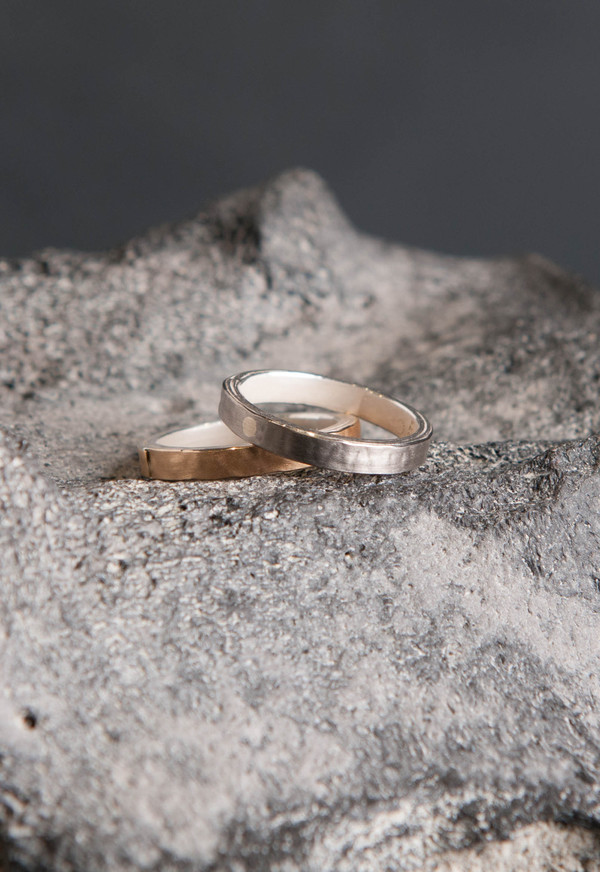 Petra Dömling Pink Gold Smooth Ring