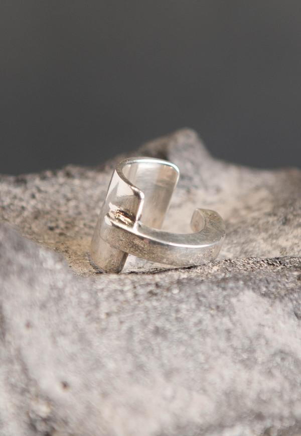Pilar Olaverri Silver Cuff Ring